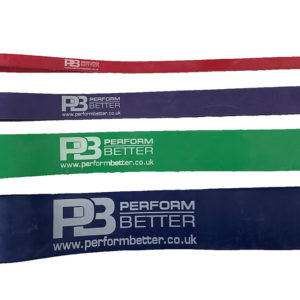 "Perform Better Strength Bands 41"" - Green"