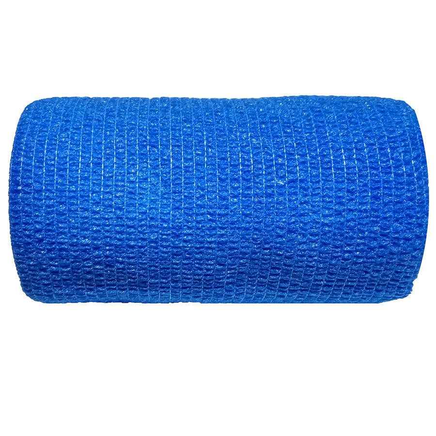 """Αυτοσυγκρατούμενος επίδεσμος Medicin 4"""" (10 cm) - Μπλε"""