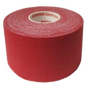 Medicin Kinesiology Tape 5cm X 5m Red