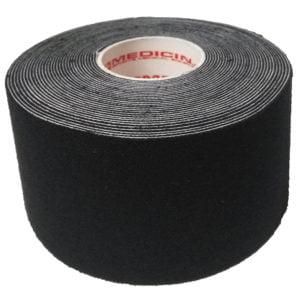 Medicin Kinesiology Tape 5cm X 5m Black