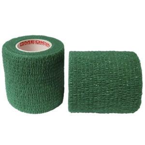 """Αυτοσυγκρατούμενος επίδεσμος Medicin 2"""" (5 cm) - Πράσινος"""