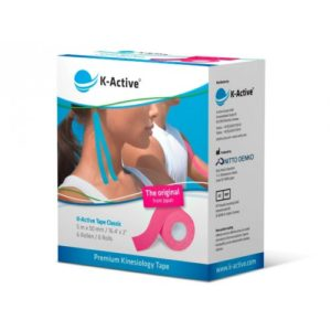 K-Active Kinesiology Tape Classic 5cmX5m Pink