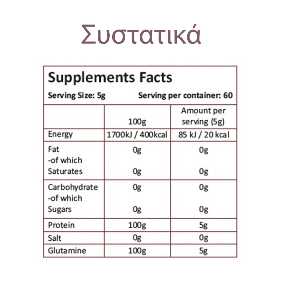 LeoNutrition 100%LeoGlutamine Pure (300gr)