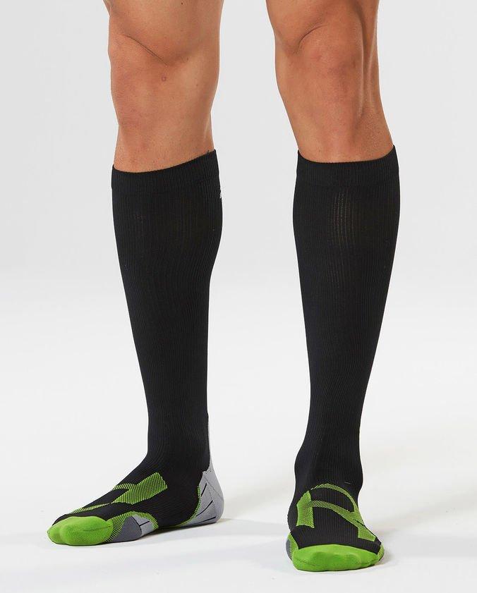 Κάλτσα Συμπίεσης 2XU (Recovery) Black MA4423e