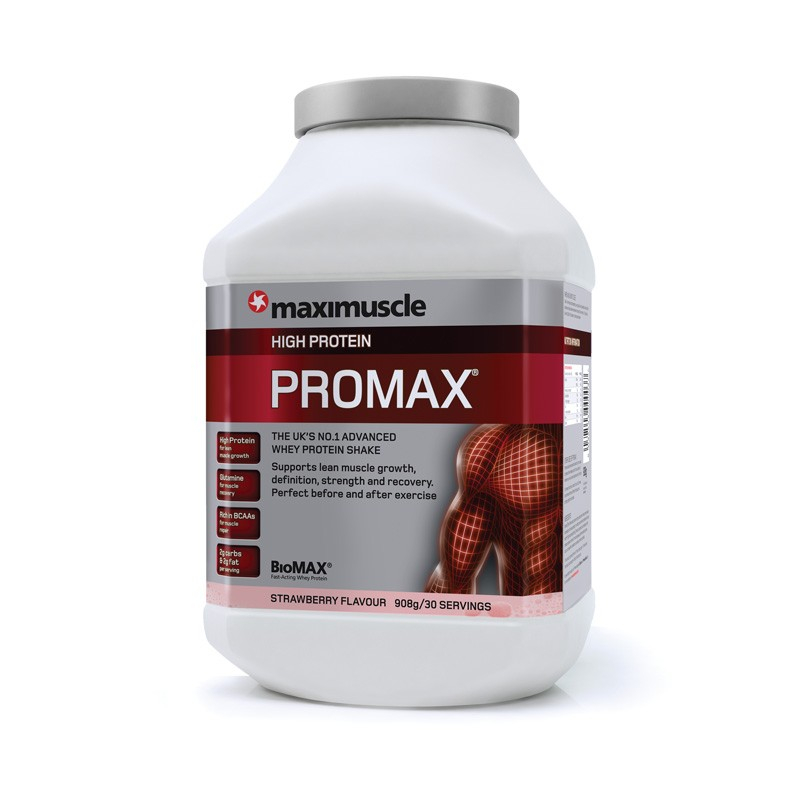 Maximuscle Promax 908gr - Strawberry