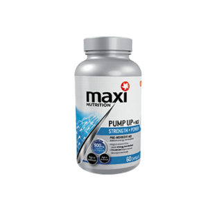 Maximuscle Pump up + NO2 60caps