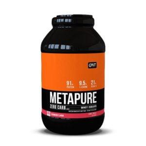 QNT Metapure Zero Carb 2000gr - Φράουλα