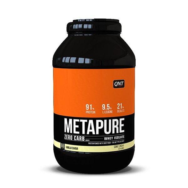 QNT Metapure Zero Carb 2000gr - Βανίλια