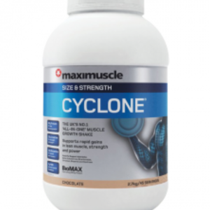 Maximuscle Cyclone 2.7kg - Vanilla