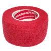 """Αυτοσυγκρατούμενος επίδεσμος Medicin 1"""" (2.5 cm) - Κόκκινος"""