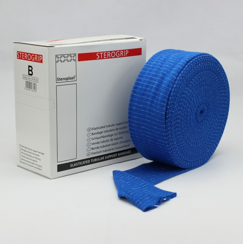 Steroplast Sterogrip 9501BL - Ελαστικός Σωληνωτός Επίδεσμος Μπλε (6.25cm X 10m)