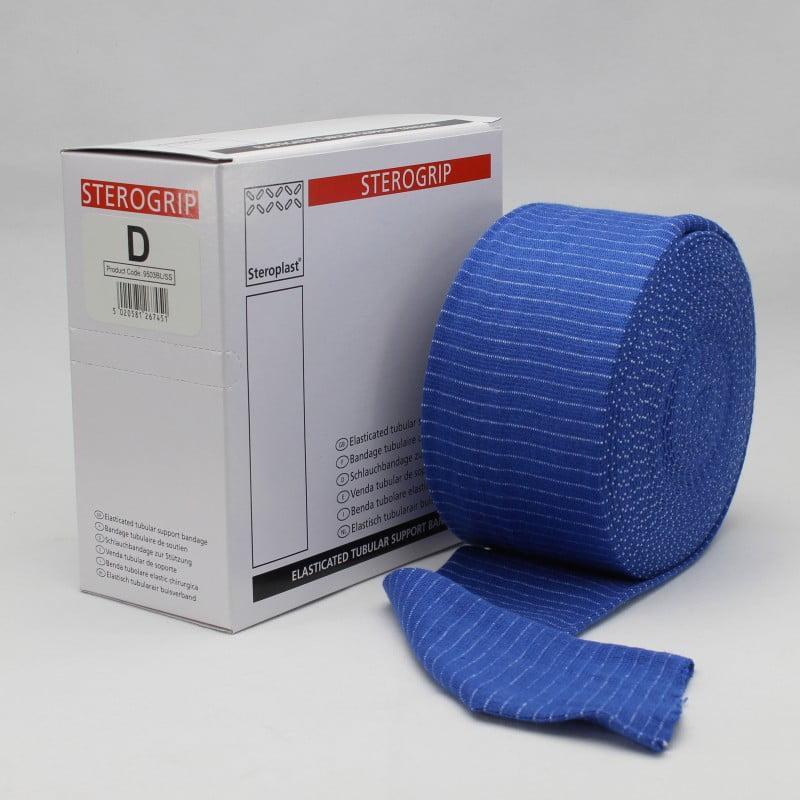 Steroplast Sterogrip 9503BL - Ελαστικός Σωληνωτός Επίδεσμος Μπλε (7.50cm X 10m)