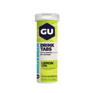 GU Hydration Drink Tablets - Lemon Lime - 12 tabs