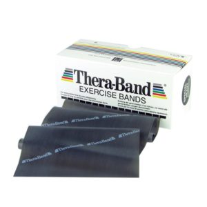 TheraBand® Exercise Bands 5,50m - Black - Special Heavy (Ελαστικός Ιμάντας Άσκησης) 20060