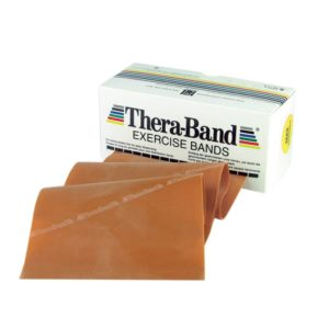 TheraBand® Exercise Bands 5,50m - Gold - Max (Ελαστικός Ιμάντας Άσκησης) 20080