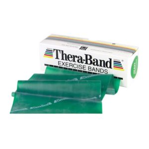 TheraBand® Exercise Bands 5,50m - Green - Heavy (Ελαστικός Ιμάντας Άσκησης) 20040