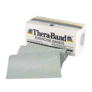 TheraBand® Exercise Bands 5,50m - Silver - Super Heavy (Ελαστικός Ιμάντας Άσκησης) 20070