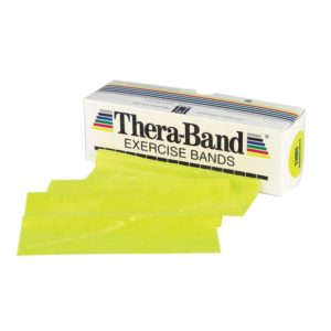 TheraBand® Exercise Bands 5,50m - Yellow - Thin (Ελαστικός Ιμάντας Άσκησης) 20020