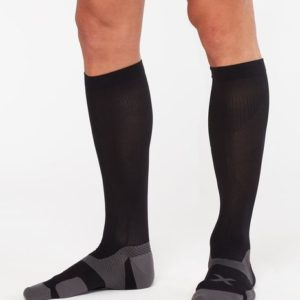 Κάλτσα Συμπίεσης 2XU (Vectr Cushion Socks) Black UA5156e