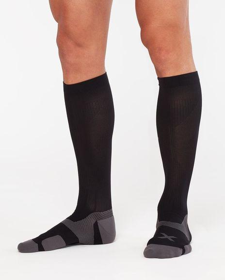 Κάλτσα Συμπίεσης 2XU (Vectr Cushion Socks) Black UA5156e